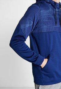 Nike Performance - THERMA - Felpa con cappuccio - blue void/black - 4