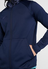 Nike Performance - FC BARCELONA HOODIE - Klubové oblečení - obsidian/rush blue - 4