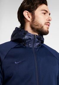 Nike Performance - FC BARCELONA HOODIE - Klubové oblečení - obsidian/rush blue - 3