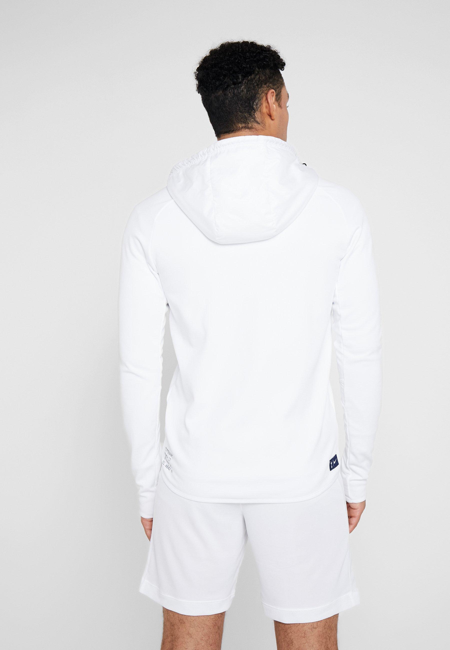 Nike Performance TOTTENHAM HOTSPURS HOODIE - Article de supporter white/binary blue