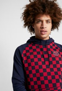 Nike Performance - FC BARCELONA HOOD - Jersey con capucha - obsidian/noble red - 3