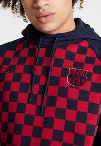 Nike Performance - FC BARCELONA HOOD - Jersey con capucha - obsidian/noble red - 6
