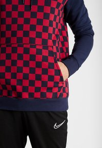 Nike Performance - FC BARCELONA HOOD - Jersey con capucha - obsidian/noble red - 4