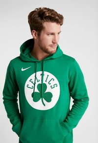 Nike Performance - NBA BOSTON CELTICS LOGO HOODIE - Hoodie - clover - 3