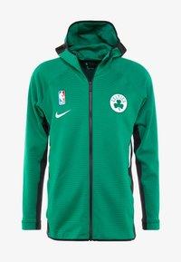 Nike Performance - NBA BOSTON CELTICS THERMAFLEX - Equipación de clubes - clover/black/white - 3