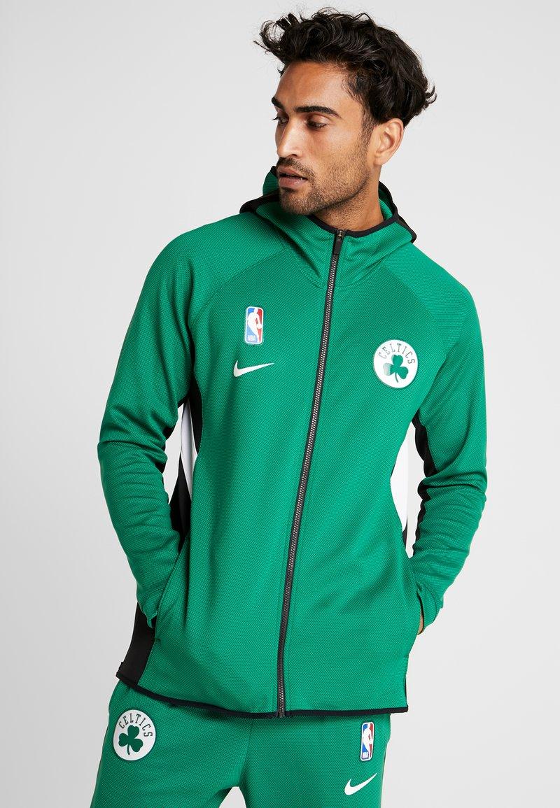 Nike Performance - NBA BOSTON CELTICS THERMAFLEX - Equipación de clubes - clover/black/white