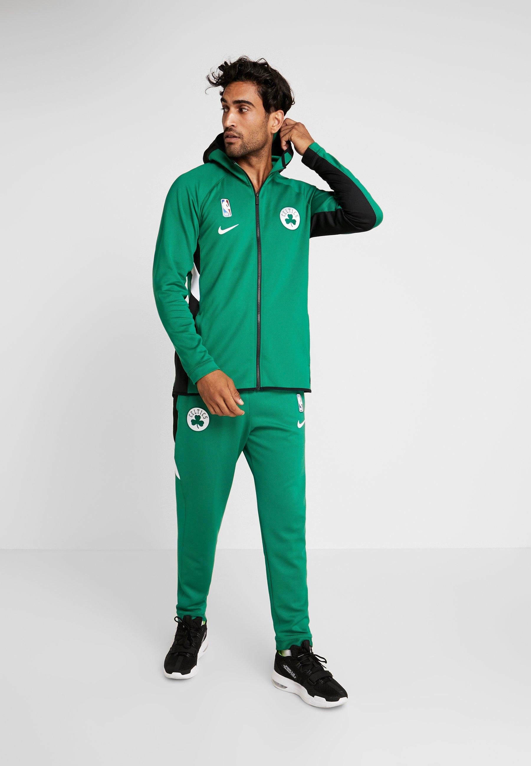 Nike Performance NBA BOSTON CELTICS THERMAFLEX - Artykuły klubowe - clover/black/white
