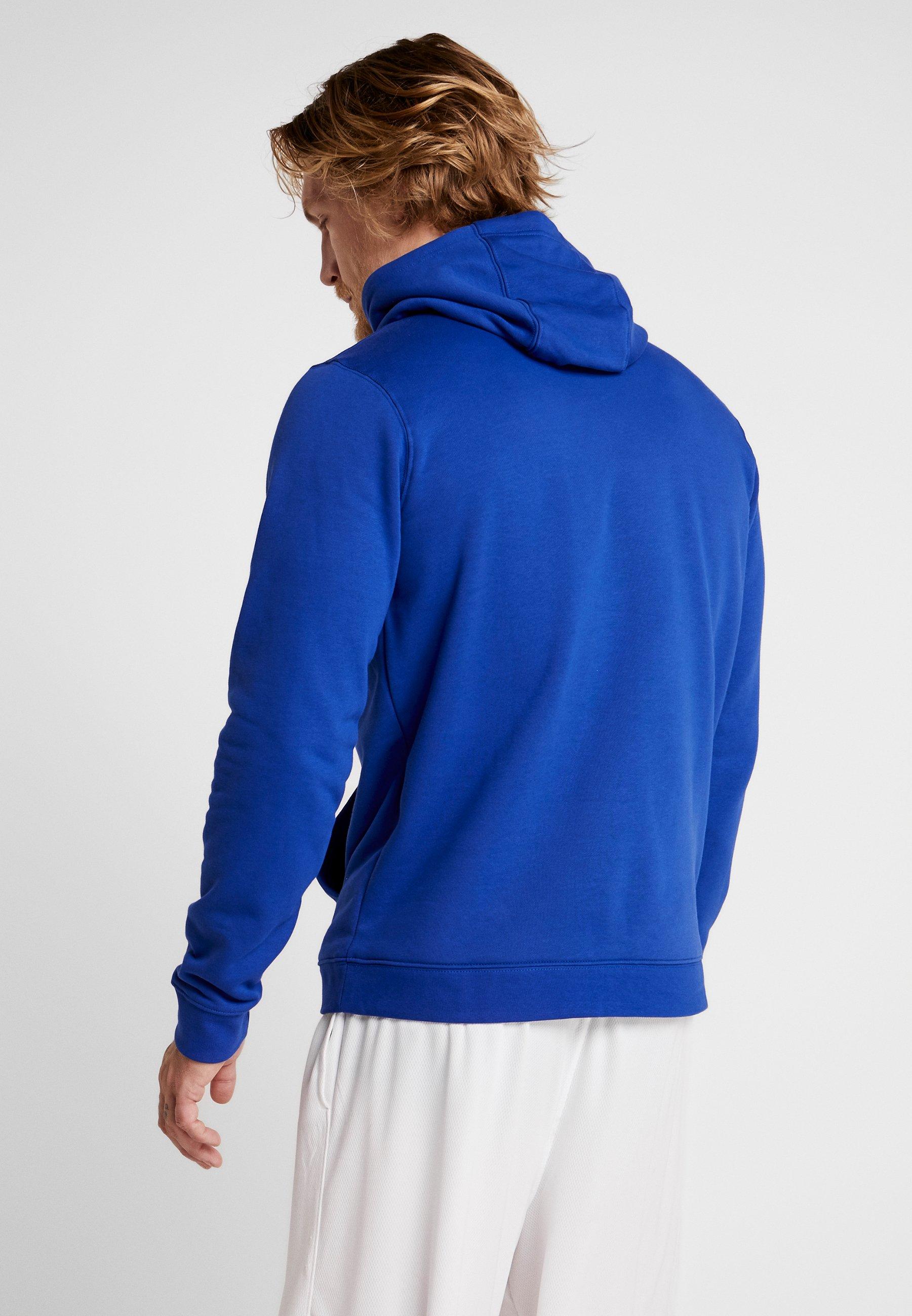 Nike Performance NBA GOLDEN STATE WARRIORS LOGO HOODIE - Artykuły klubowe - rush blue