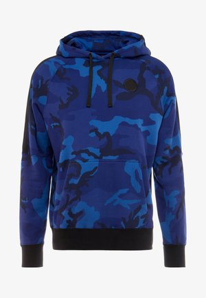 NBA GOLDEN STATE WARRIORS CAMO HOODIE - Hoodie - rush blue/black