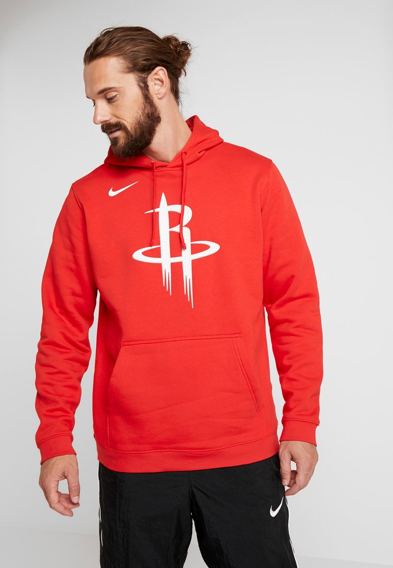 Nike Performance - NBA HOUSTON ROCKETS LOGO HOODIE - Artykuły klubowe - university red