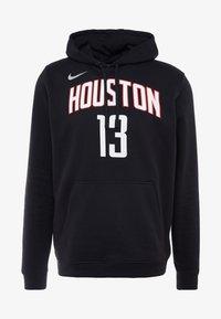 Nike Performance - NBA HOUSTON ROCKETS JAMES HARDEN NAME&NUMBER HOODIE - Kapuzenpullover - black - 5