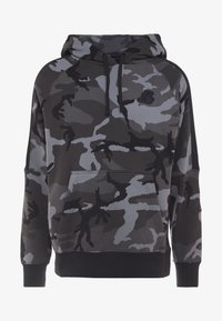 Nike Performance - NBA LA LAKERS CAMO HOODIE - Club wear - cool grey/black - 5