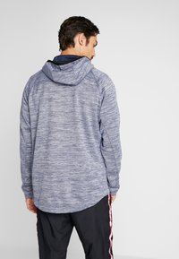 Nike Performance - SPOTLIGHT HOODIE - Zip-up hoodie - college navy/heather - 2