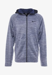 Nike Performance - SPOTLIGHT HOODIE - Zip-up hoodie - college navy/heather - 4