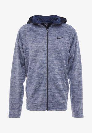 SPOTLIGHT HOODIE - veste en sweat zippée - college navy/heather