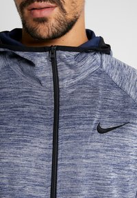 Nike Performance - SPOTLIGHT HOODIE - Zip-up hoodie - college navy/heather - 5
