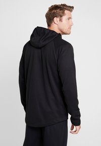Nike Performance - SPOTLIGHT HOODIE - Zip-up hoodie - black/anthracite - 2