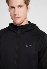 Nike Performance - SPOTLIGHT HOODIE - Sweatjakke /Træningstrøjer - black/anthracite - 4