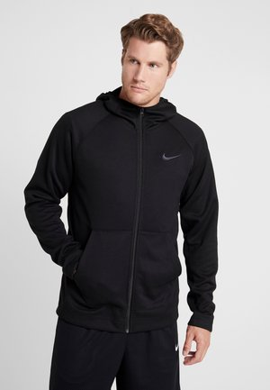 SPOTLIGHT HOODIE - Sweatjacke - black/anthracite