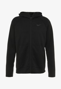 Nike Performance - SPOTLIGHT HOODIE - Zip-up hoodie - black/anthracite - 3