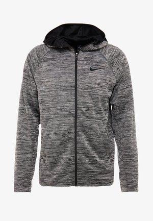 SPOTLIGHT HOODIE - Zip-up hoodie - black heather