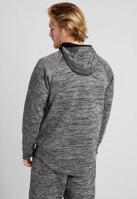 Nike Performance - SPOTLIGHT HOODIE - Zip-up hoodie - black heather - 2