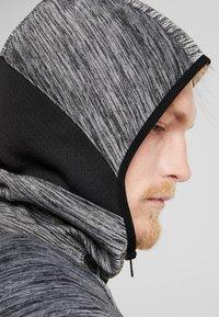 Nike Performance - SPOTLIGHT HOODIE - Zip-up hoodie - black heather - 3