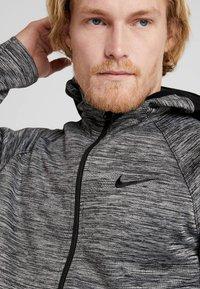 Nike Performance - SPOTLIGHT HOODIE - Zip-up hoodie - black heather - 5