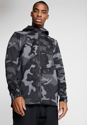 SHOWTIME PRINT - Training jacket - dark grey/black
