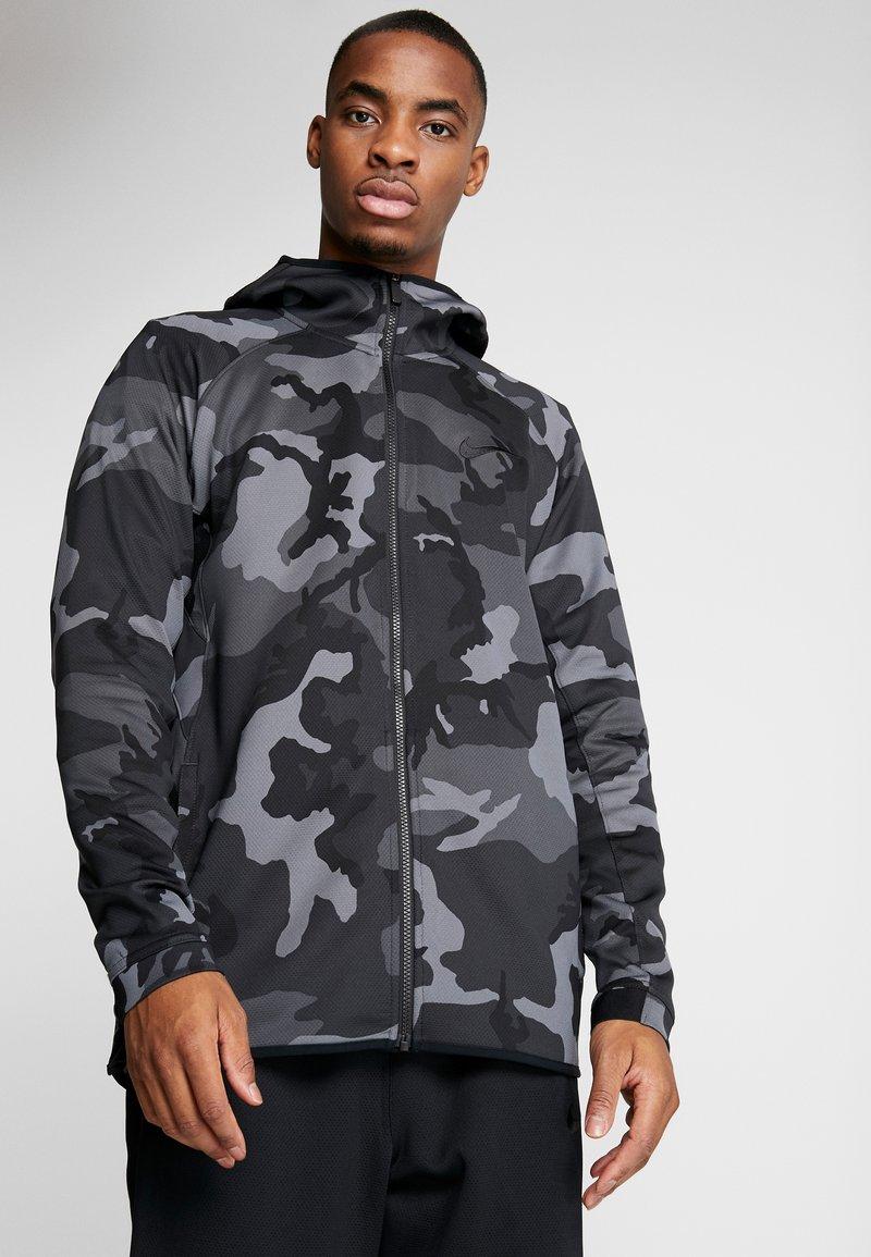 Nike Performance - SHOWTIME PRINT - Giacca sportiva - dark grey/black