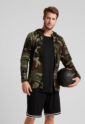 SHOWTIME PRINT - Sportovní bunda - medium olive/black