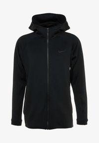 Nike Performance - THERMA FLEX SHOWTIME - Huvtröja med dragkedja - black/dark grey/cool grey - 5