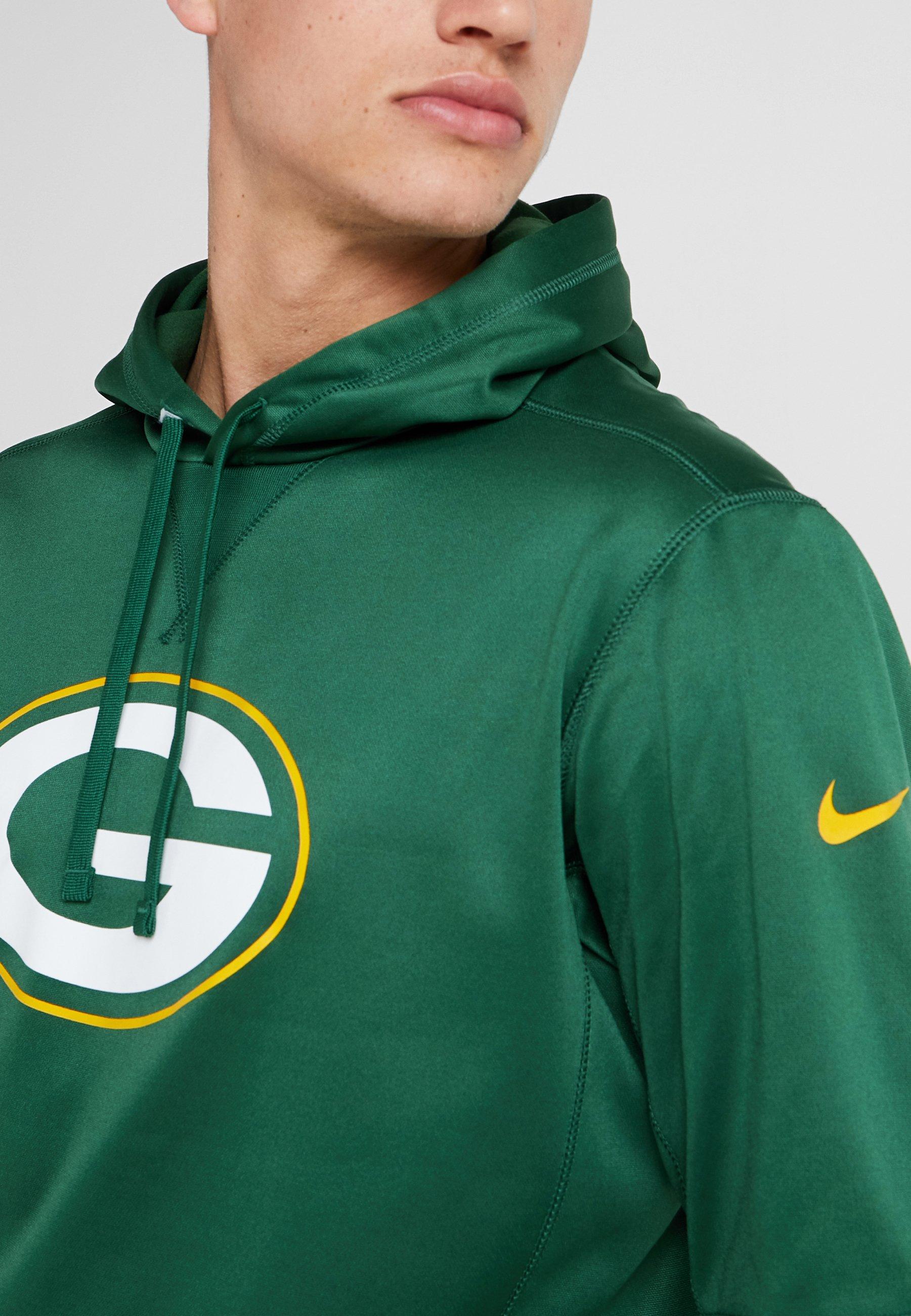 Nfl Gold Capuche Nike Logo Packers Fir university Bay HoodySweat À Performance WEIYH29eD