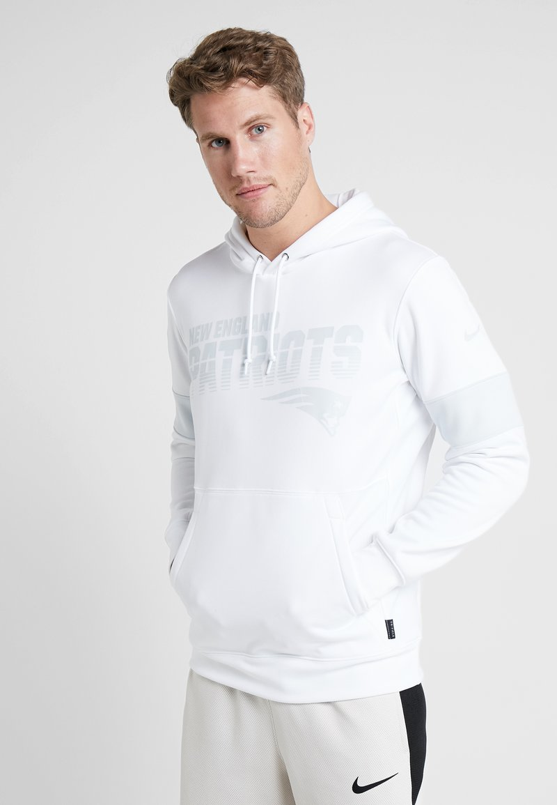 Nike Performance - NFL 100 YEARS THERMA HOODY - Huppari - white/pure platinum
