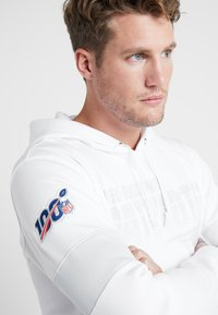 Nike Performance - NFL 100 YEARS THERMA HOODY - Huppari - white/pure platinum - 5