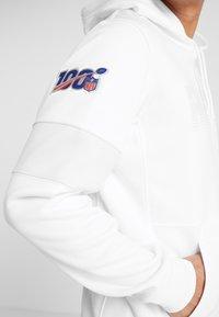 Nike Performance - NFL 100 YEARS OAKLAND RAIDERS THERMA HOODY - Pelipaita - white/pure platinum - 3