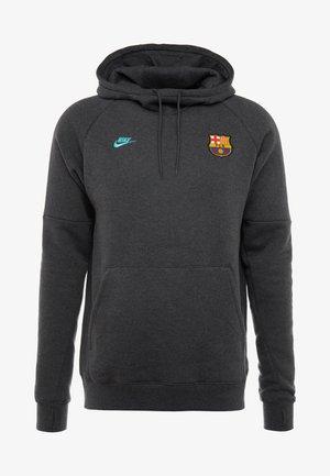 FC BARCELONA HOOD  - Klubbkläder - anthracite/dark grey/cabana