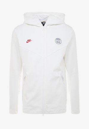 PARIS ST GERMAIN HOODIE  - Klubbkläder - white/university red