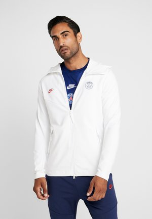 PARIS ST GERMAIN HOODIE  - Fanartikel - white/university red