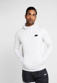 Nike Performance - PARIS ST GERMAIN HOOD  - Squadra - white/wolf grey/midnight navy - 0