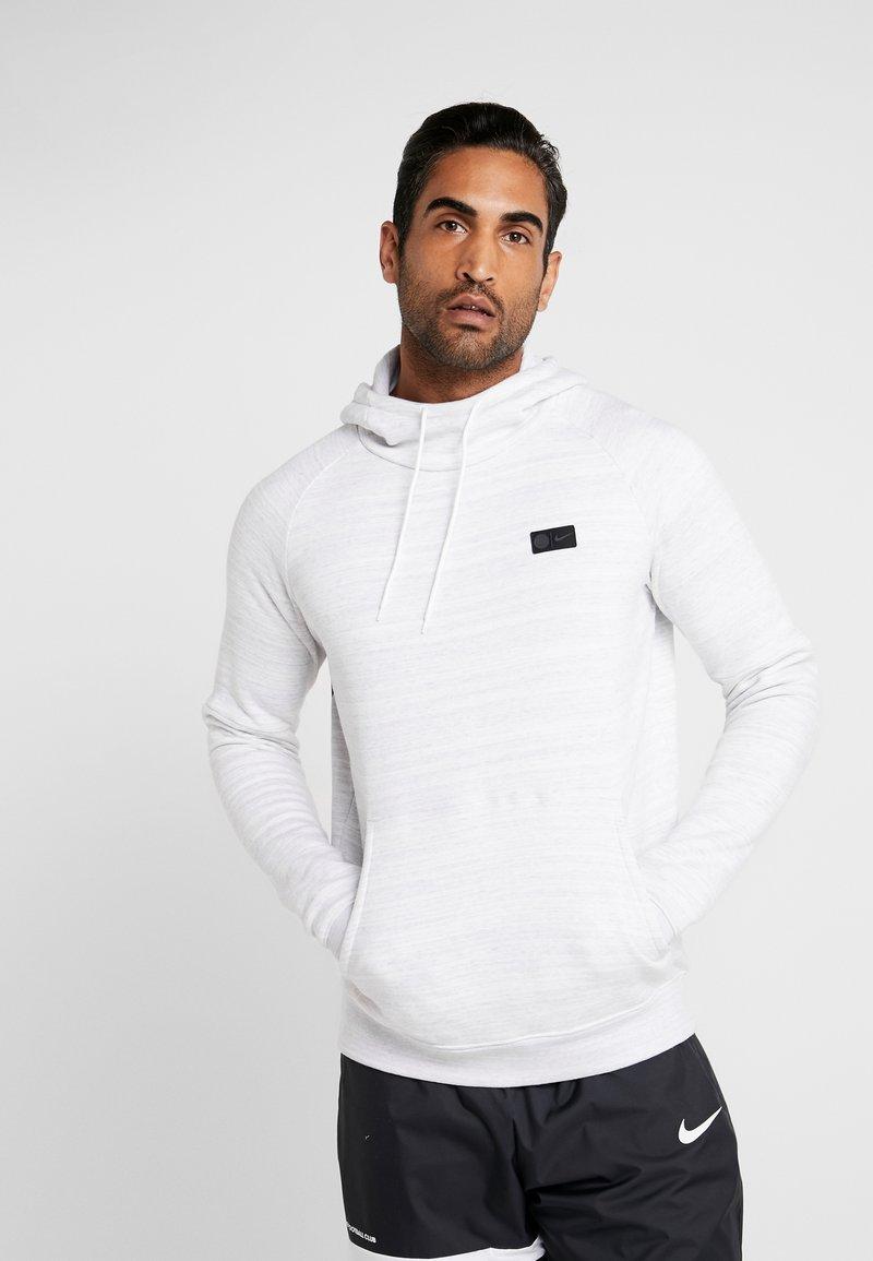 Nike Performance - PARIS ST GERMAIN HOOD  - Squadra - white/wolf grey/midnight navy