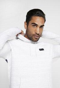 Nike Performance - PARIS ST GERMAIN HOOD  - Squadra - white/wolf grey/midnight navy - 3