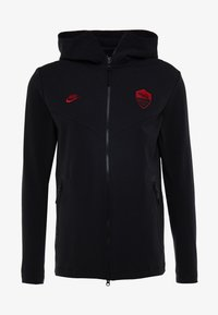 Nike Performance - AS ROM TECH PACK HOODIE - Equipación de clubes - black/team crimson - 4