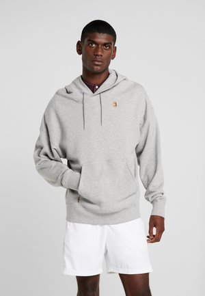 NIKECOURT TENNIS-HOODIE AUS FLEECE FUR HERREN - Hoodie - grey heather