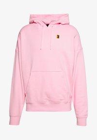 Nike Performance - HOODIE HERITAGE - Bluza z kapturem - pink foam - 0
