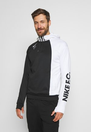 FC HOODIE - Jersey con capucha - white/black