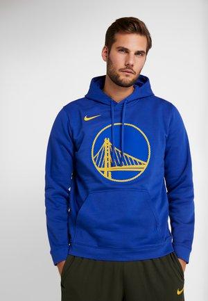 NBA NEW YORK KNICKS PO FLEECE HOODIE - Sweat à capuche - rush blue