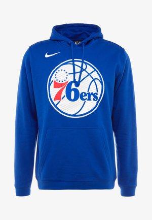 NBA PHILADELPHIA 76ERS FLEECE HOODIE - Sweat à capuche - rush blue