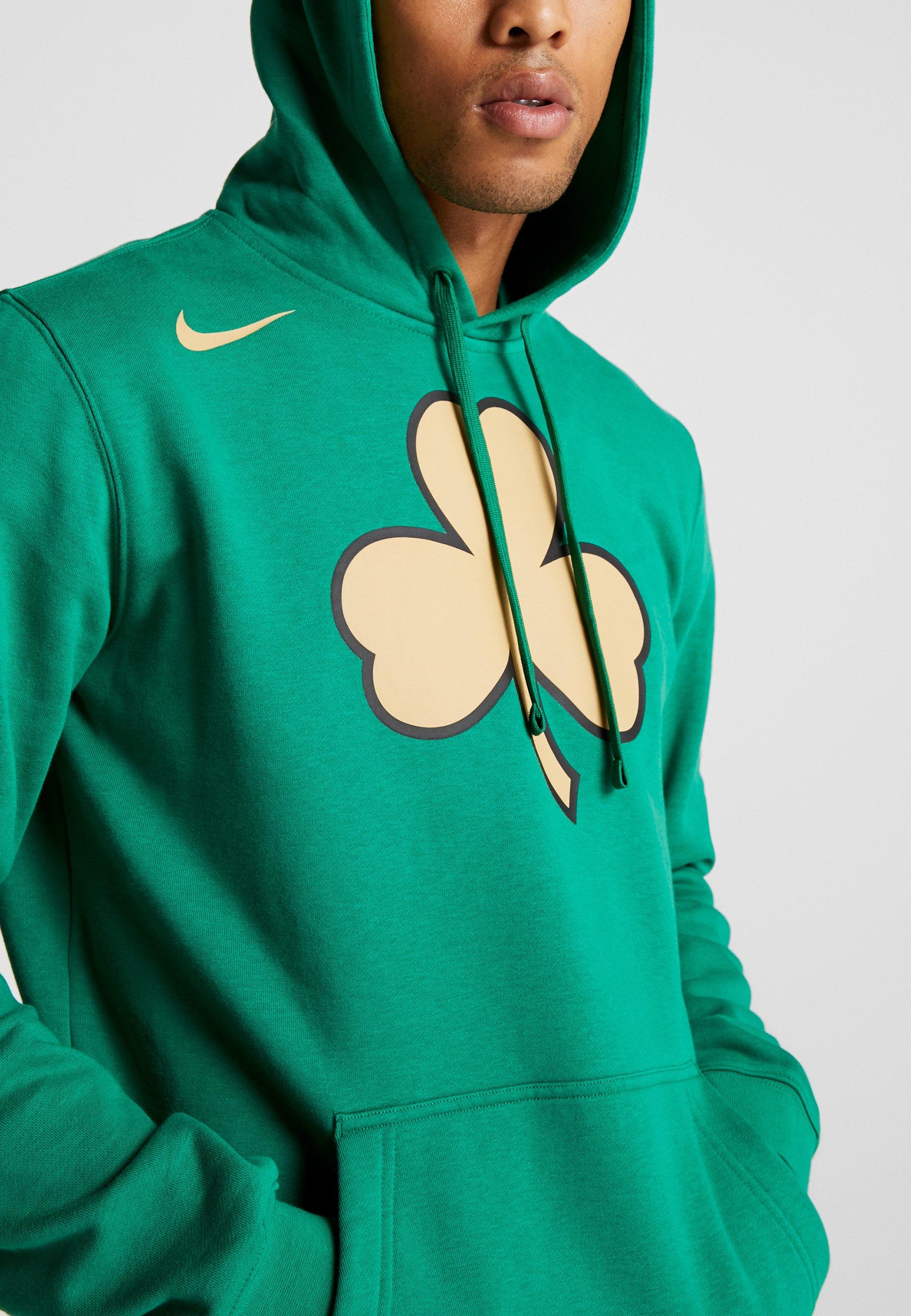 Nike Performance NBA CITY EDITION BOSTON CELTICS LOGO HOODIE - Artykuły klubowe - clover