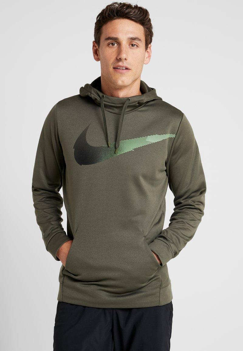 Nike Performance - Mikina skapucí - cargo khaki